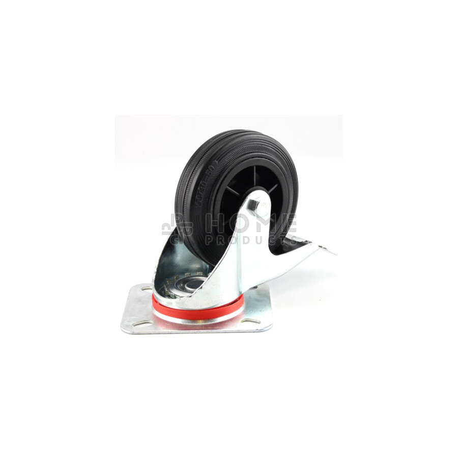 Swivel Castor with Brake Plastic RIM 100 mm