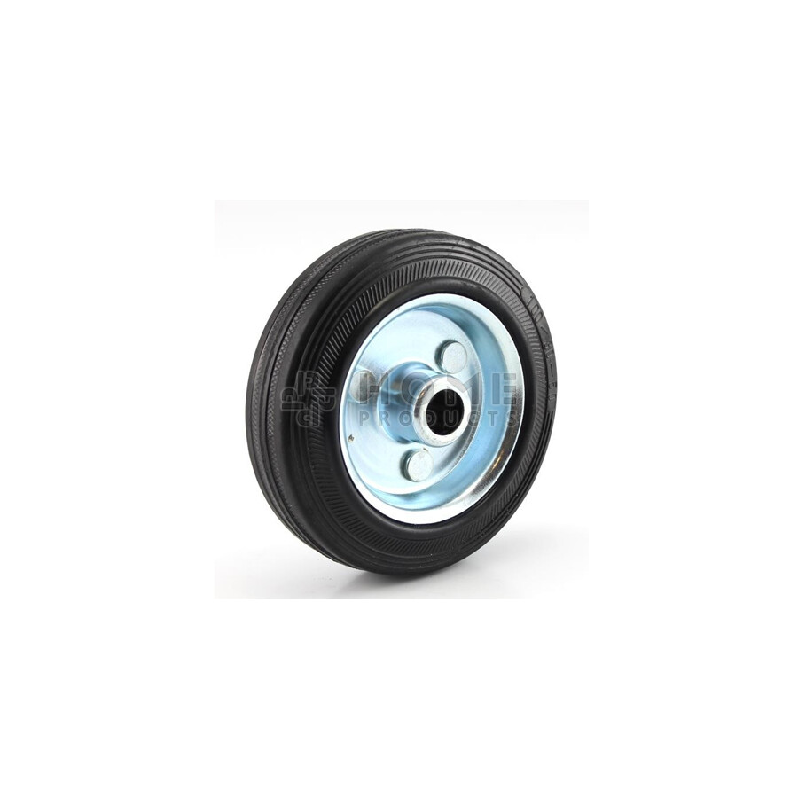 Rubber Wheel Metal RIM 100 mm