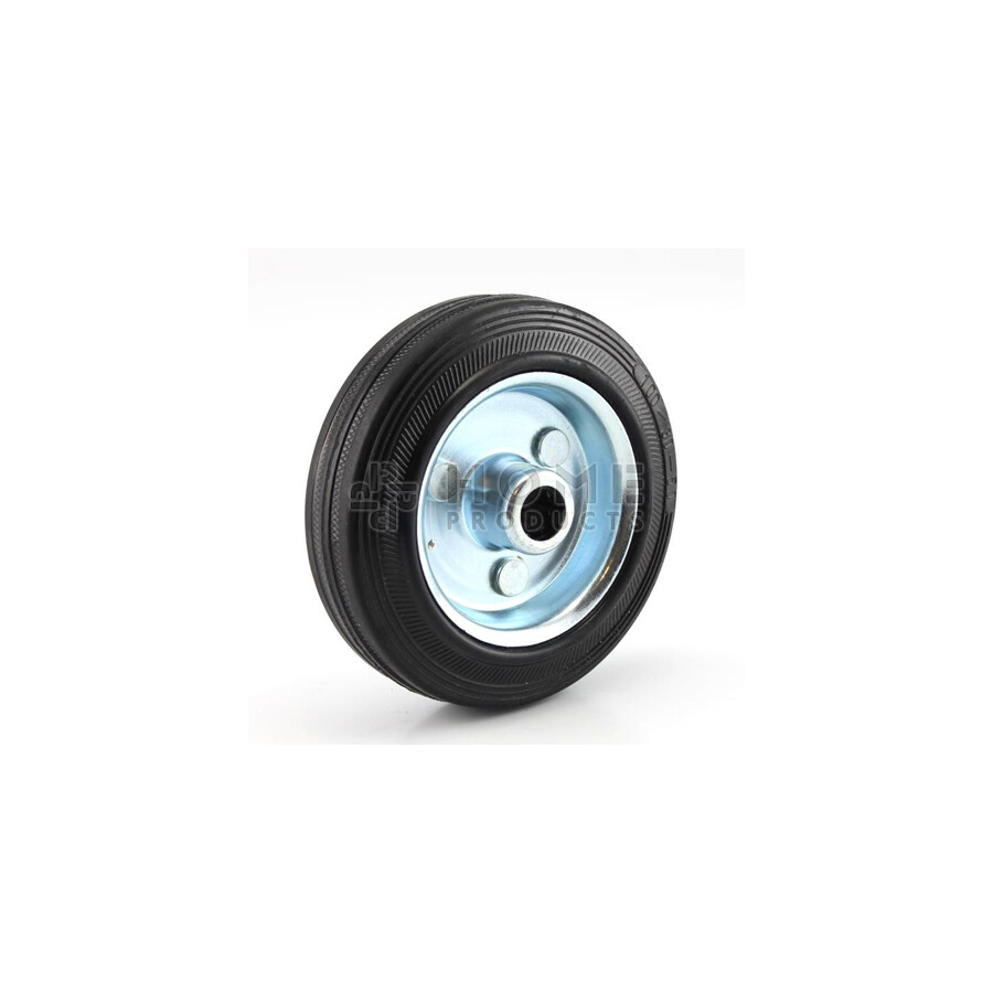 Rubber Wheel Metal RIM 125 mm