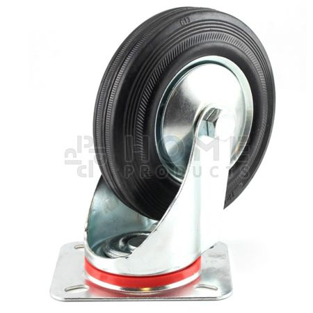 Swivel Castor Metal RIM 125 mm