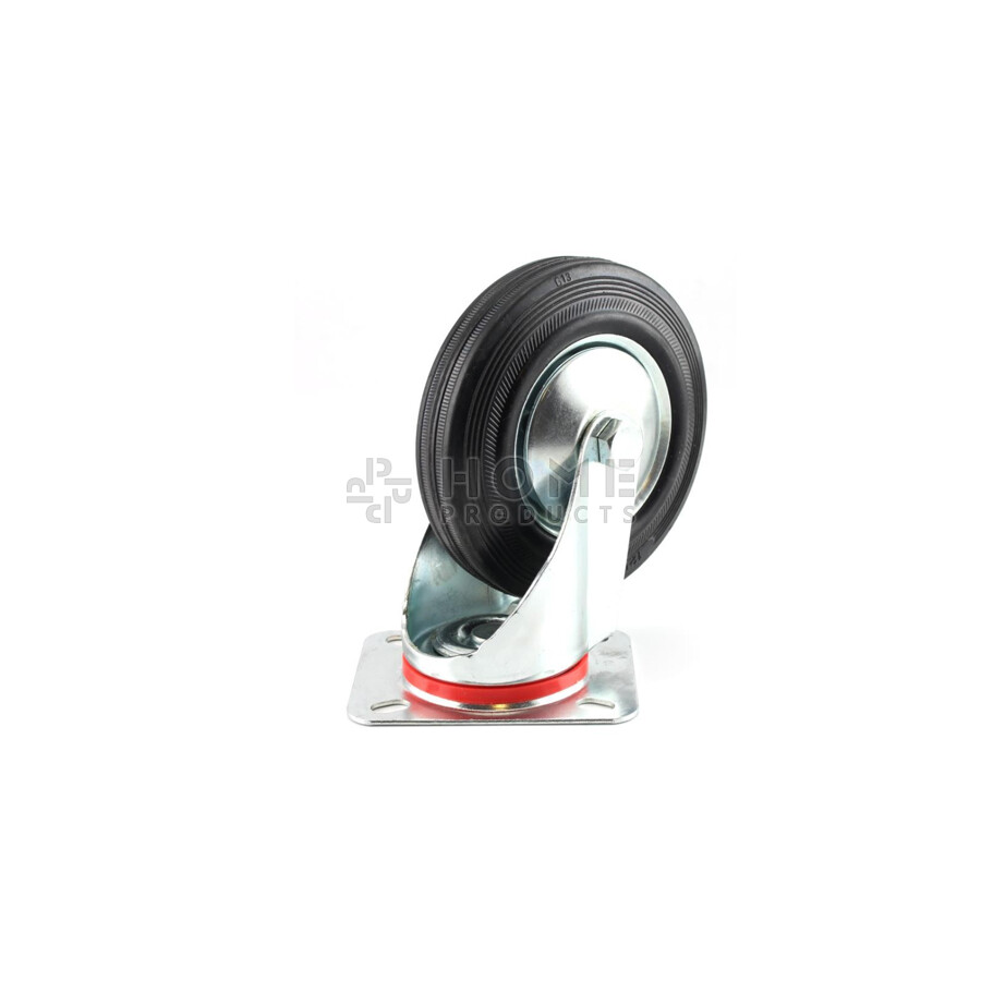 Swivel Castor Metal RIM 200 mm