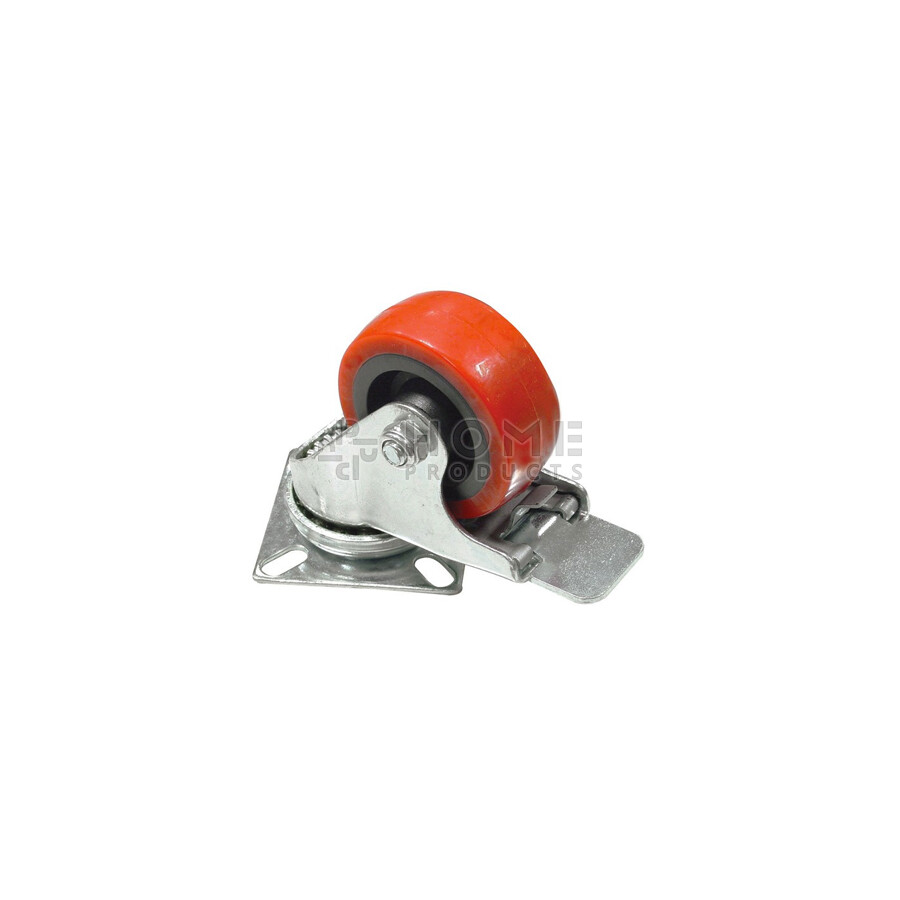 Swivel Castor with Brake 50 mm PU