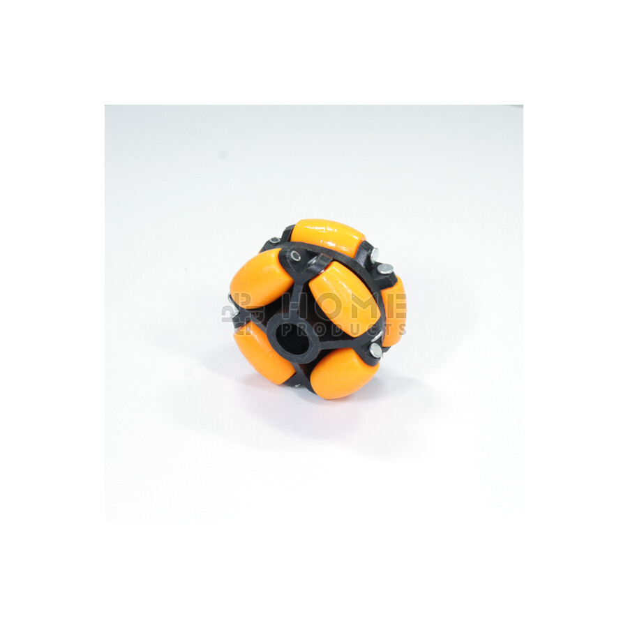 Multi-directional wheel with 8 rollers, 70 mm